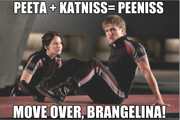 Peeta plus Katniss
