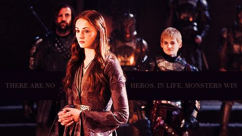 "From the ""Lady Sansa ღ"" page on Facebook"