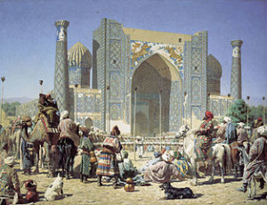 Торжествуют (They are triumphant) by Vasily Vereshchagin [Public domain], via Wikimedia Commons
