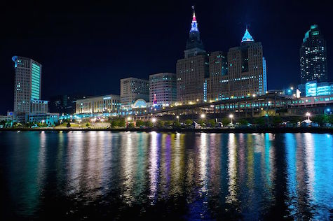 By Rob Sinclair (Flickr: Cleveland by night) [CC BY-SA 2.0 (http://creativecommons.org/licenses/by-sa/2.0)], via Wikimedia Commons
