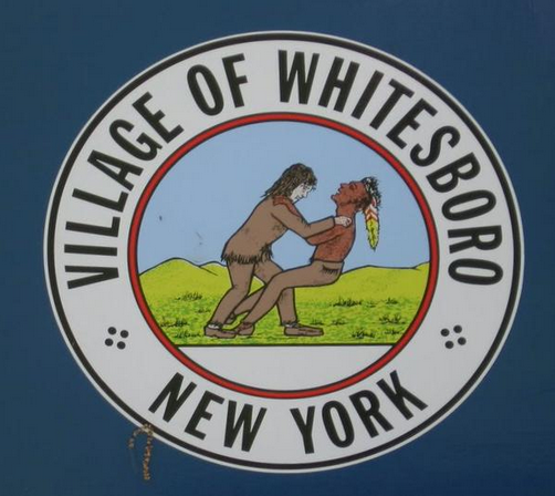 Village of Whitesboro seal [Public domain], via Raw Story