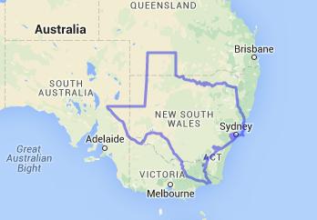 Texas-Australia