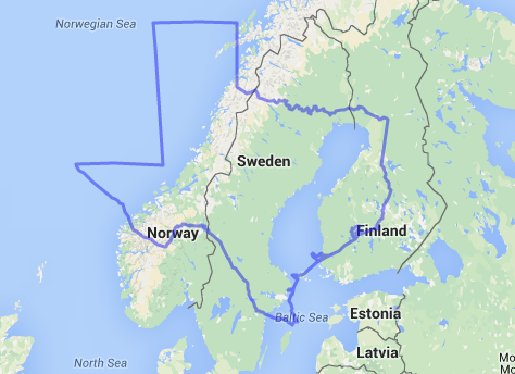 Texas Is Bigger Than Cryptic Philosopher - Sweden big map